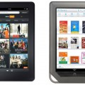Kindle Fire và Nook chiếm 40% thị phần tablet Android