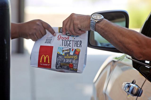 McDonald thử nghiệm hệ thống thanh toán qua điện thoại