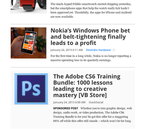 native advertising examples