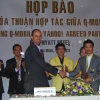 Yahoo hợp tác Q-mobile
